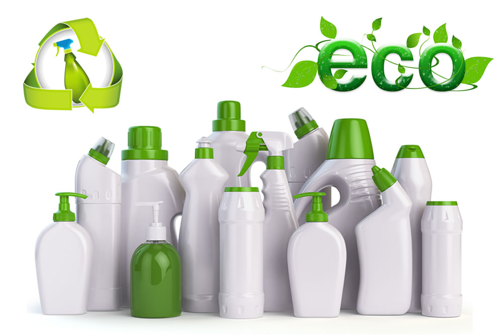 cleaning with eco-friendly products